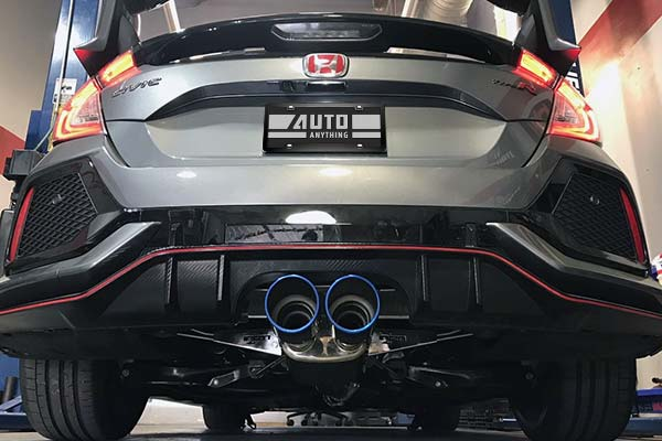 Injen SES exhaust system civic type R
