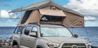 Toyota Tacoma Tuff Stuff Overland Roof Top Tent