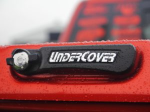 Undercover hinged tonneau cover weather sealed