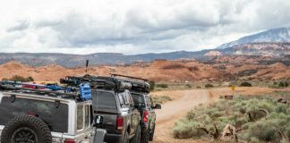 Roof rack guide
