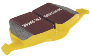 EBC Yellow brake pads with bed in coating