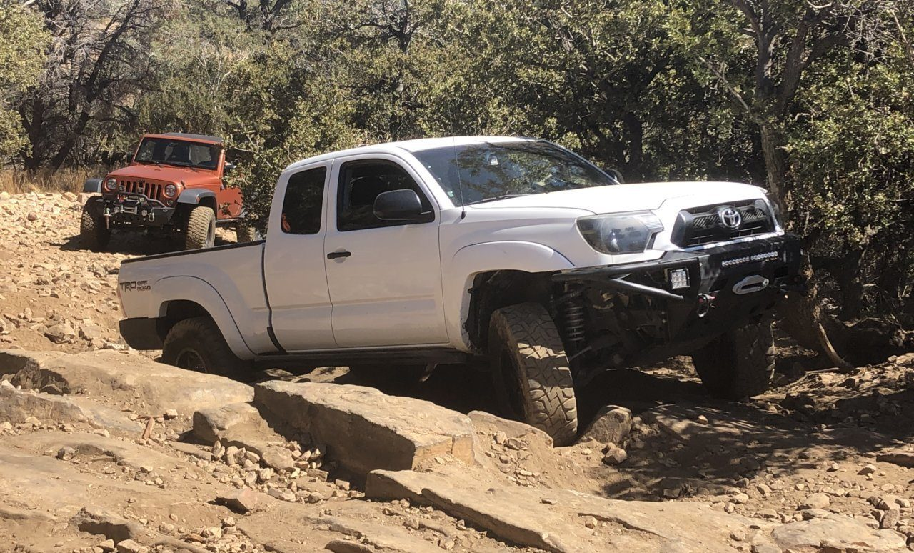 The need for rock sliders on an off road rig