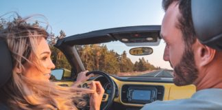 Valentines gift ideas for couples behind the wheel