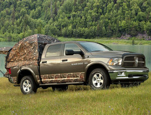 Dodge Ram truck bed tents from Napier